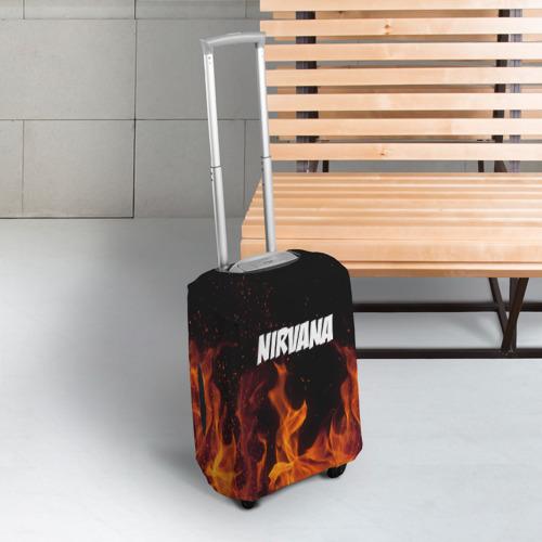 Чехол для чемодана 3D  Фото 03, Нирвана