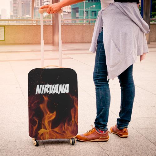 Чехол для чемодана 3D  Фото 04, Нирвана