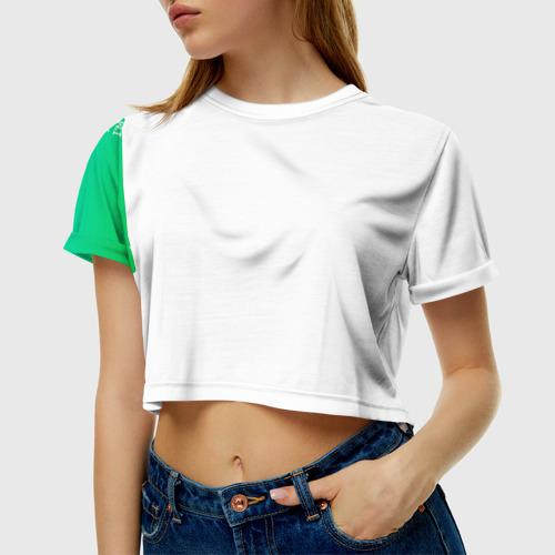 Женская футболка 3D укороченная  Фото 01, Trust me, i'm a doctor