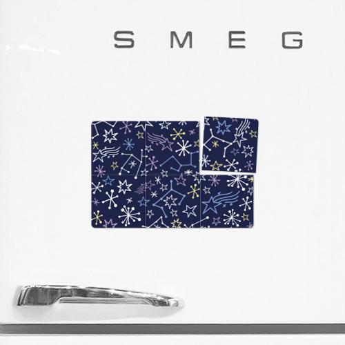 Магнитный плакат 3Х2  Фото 02, Космическая карта