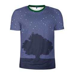 Тоторо на дереве