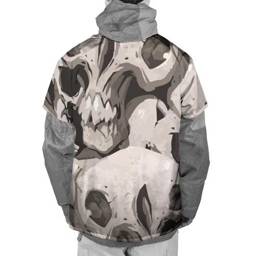 Накидка на куртку 3D  Фото 02, Skull kamo
