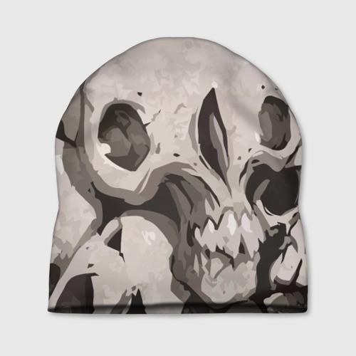 Шапка 3D  Фото 01, Skull kamo