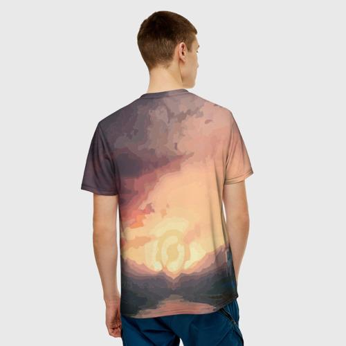 Мужская футболка 3D  Фото 02, Врэйт Кинг из Доты