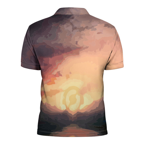 Мужская рубашка поло 3D  Фото 02, Фан Клокверк из Доты