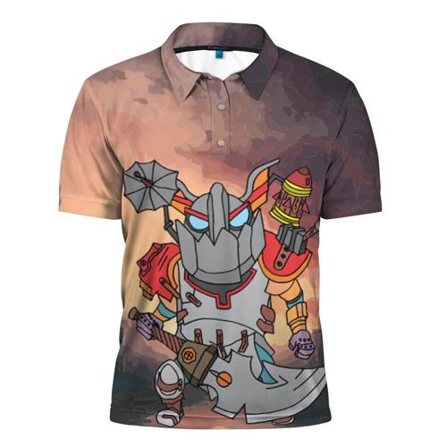 Мужская рубашка поло 3D  Фото 01, Фан Клокверк из Доты