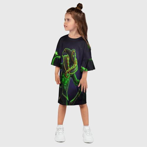 Детское платье 3D  Фото 03, Clown