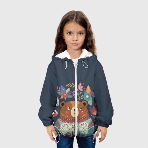 Детская куртка 3D  Фото 04, Медведь