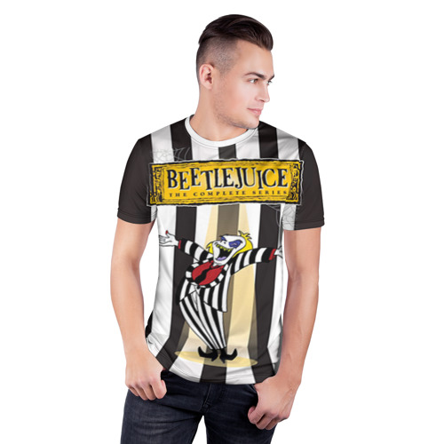 Мужская футболка 3D спортивная  Фото 03, Beetlejuice