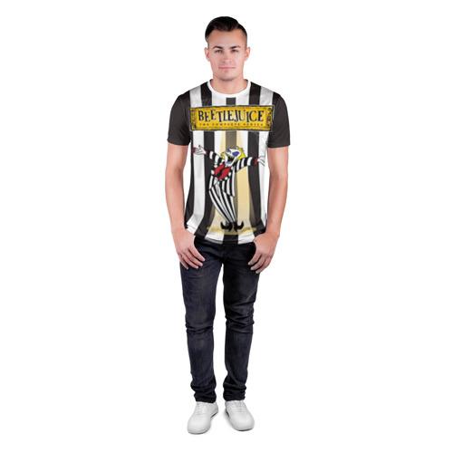 Мужская футболка 3D спортивная  Фото 04, Beetlejuice