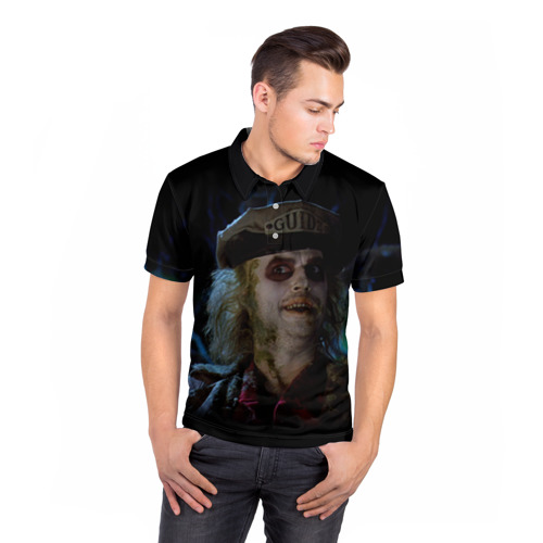 Мужская рубашка поло 3D  Фото 05, Beetlejuice