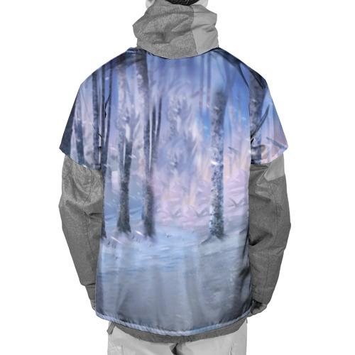 Накидка на куртку 3D  Фото 02, Winter forest & Sans