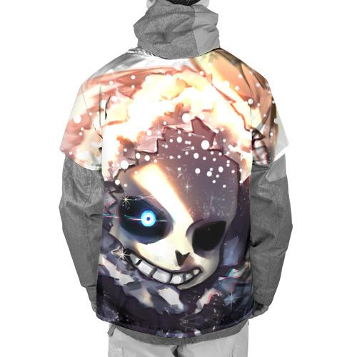 Накидка на куртку 3D  Фото 02, Sans and snow