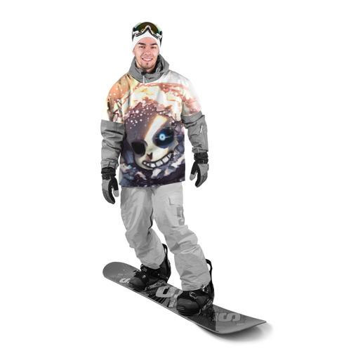Накидка на куртку 3D  Фото 03, Sans and snow