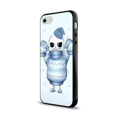 Чехол для Apple iPhone 5/5S силиконовый глянцевый  Фото 03, Santa Sans