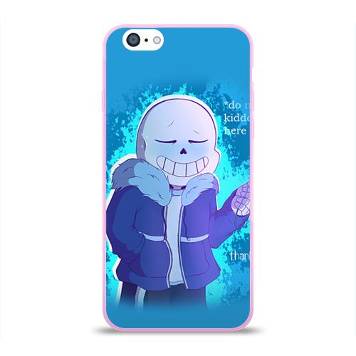 Чехол для Apple iPhone 6 силиконовый глянцевый  Фото 01, winter Sans