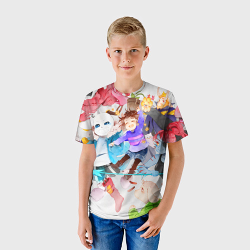 Детская футболка 3D Герои подземелья