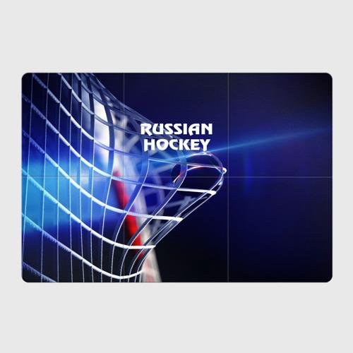Магнитный плакат 3Х2  Фото 01, Русский хоккей