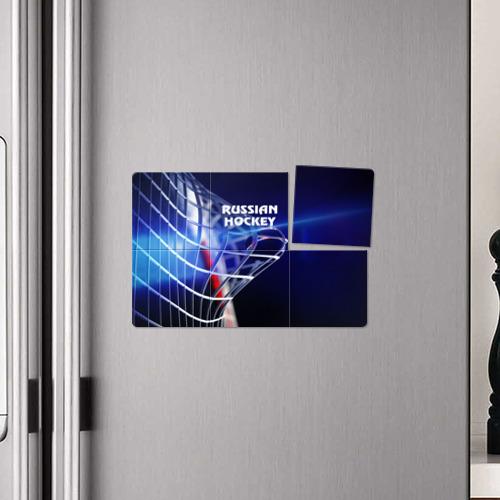 Магнитный плакат 3Х2  Фото 04, Русский хоккей