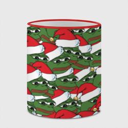 Sad frog new year