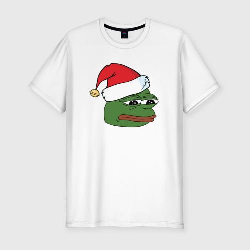 New year sad frog