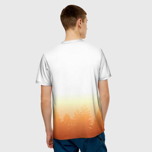 Мужская футболка 3D Я из Сибири Фото 01