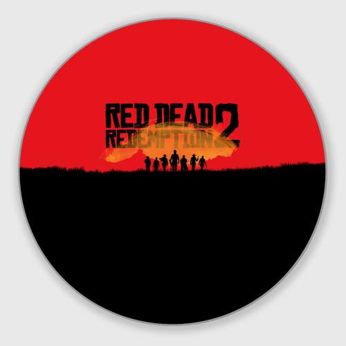 Коврик для мышки круглый Red Dead Redemption 2 Фото 01