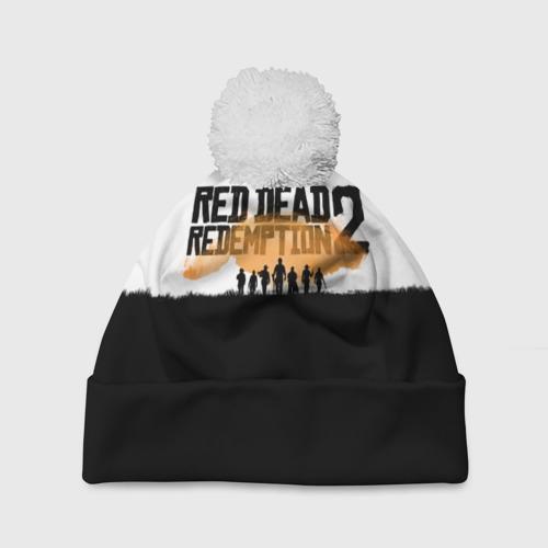 Шапка 3D c помпоном  Фото 01, Red Dead Redemption 2