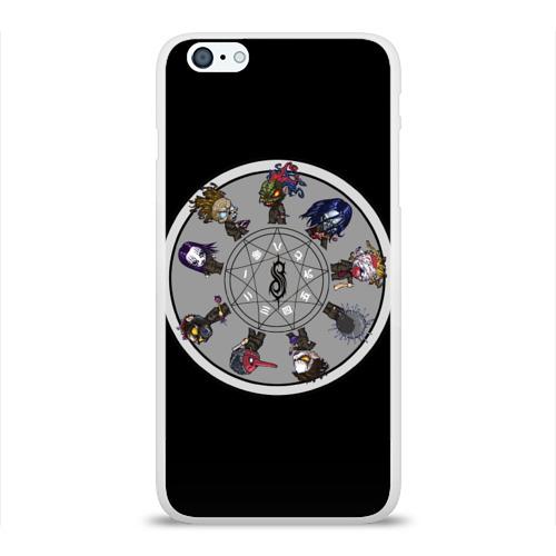 Чехол для Apple iPhone 6Plus/6SPlus силиконовый глянцевый  Фото 01, Slipknot