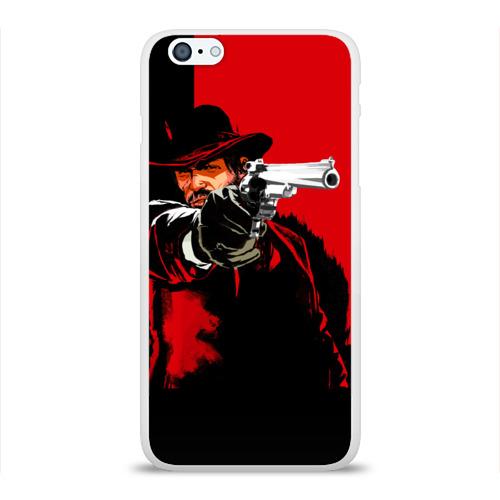 Чехол для Apple iPhone 6Plus/6SPlus силиконовый глянцевый  Фото 01, Стрелок