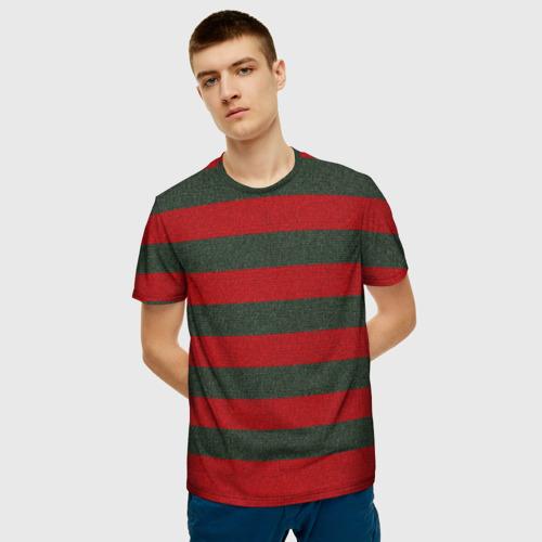Мужская футболка 3D Фредди Крюгер: Униформа Фото 01