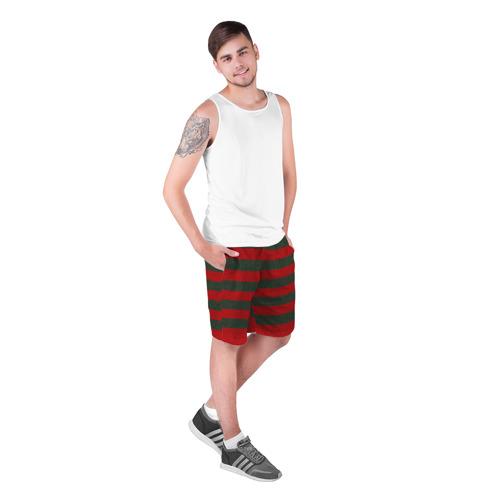 Мужские шорты 3D Фредди Крюгер: Униформа Фото 01