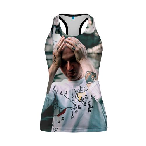 Женская майка 3D спортивная  Фото 01, Oxxxymiron 7