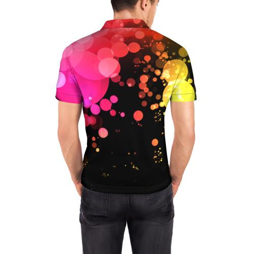 Мужская рубашка поло 3D  Фото 04, С Новым годом!