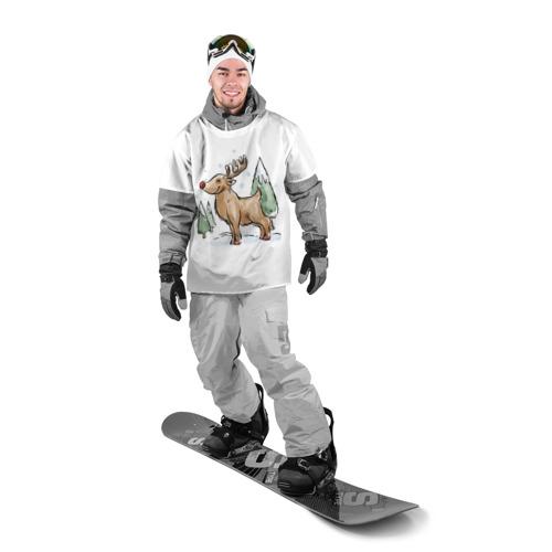 Накидка на куртку 3D  Фото 03, Оленёнок Рудольф