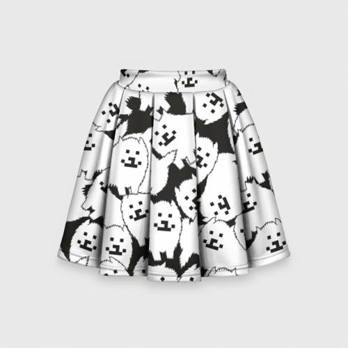 Детская юбка-солнце 3D Undertale Annoying dog