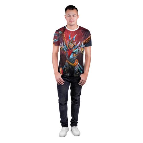 Мужская футболка 3D спортивная  Фото 04, Red Sky