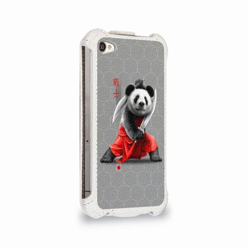 Чехол для Apple iPhone 4/4S flip  Фото 02, Master Panda