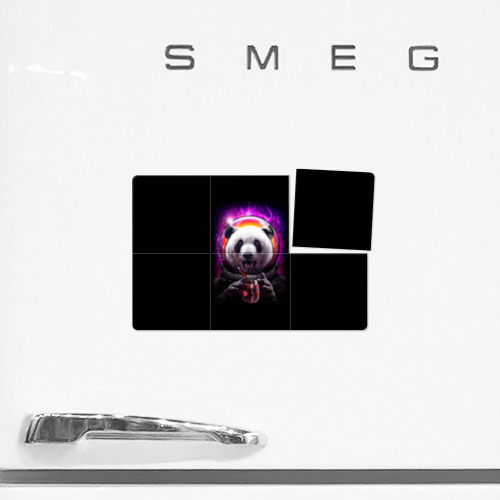 Магнитный плакат 3Х2  Фото 02, Panda Cosmonaut
