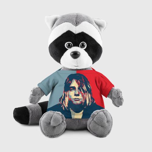 Игрушка Енотик в футболке 3D Kurt Cobain Фото 01