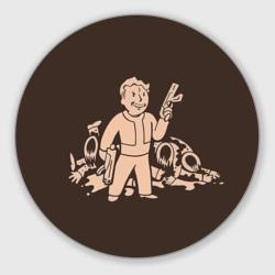 Волт-бой с оружием Fallout 4