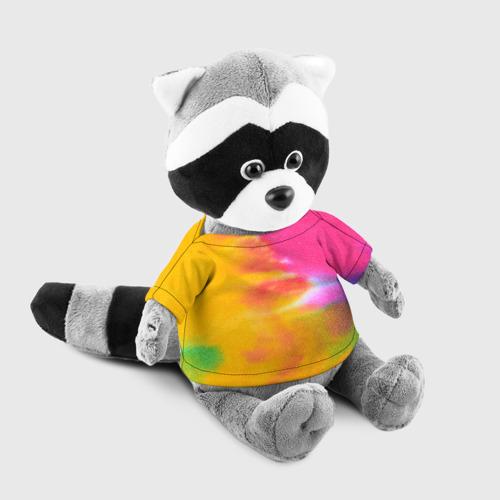 Енотик в футболке 3D  Фото 03, Knitting