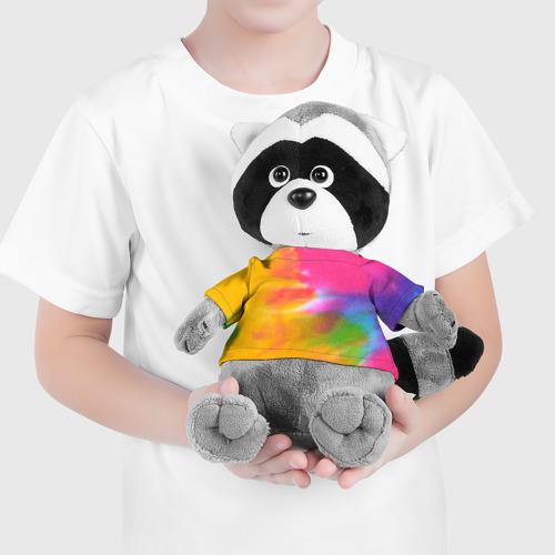 Енотик в футболке 3D  Фото 04, Knitting