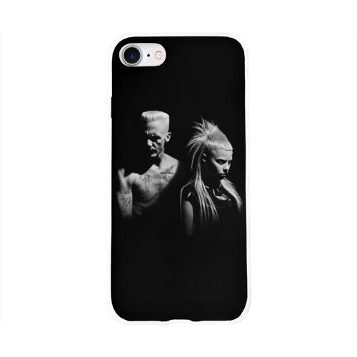 Чехол для Apple iPhone 8 силиконовый глянцевый  Фото 01, Two