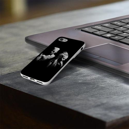 Чехол для Apple iPhone 8 силиконовый глянцевый  Фото 03, Two