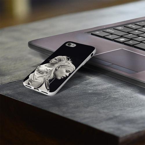 Чехол для Apple iPhone 8 силиконовый глянцевый  Фото 03, Hot
