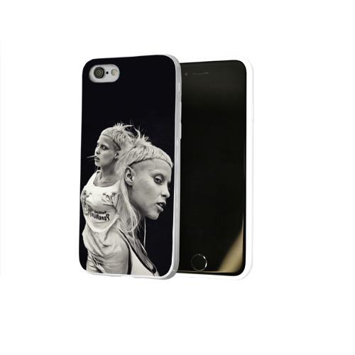 Чехол для Apple iPhone 8 силиконовый глянцевый  Фото 02, Hot