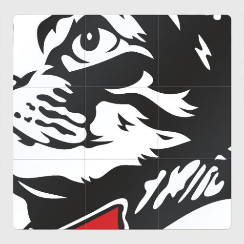 Магнитный плакат 3Х3 Meow Zedong Revolution forever
