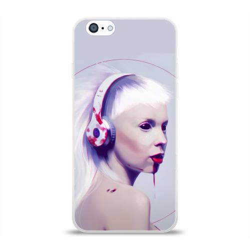 Чехол для Apple iPhone 6 силиконовый глянцевый  Фото 01, Eyes