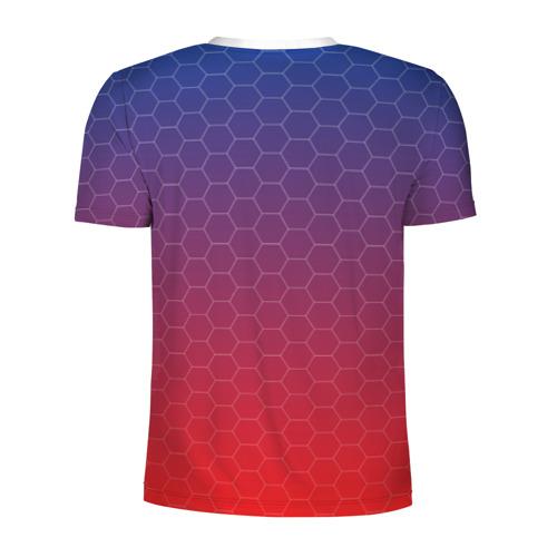 Мужская футболка 3D спортивная  Фото 02, CSKA Msk